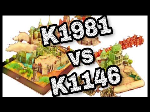 Clash Of Kings - K1981 Vs K1146 | Kingdom Conquest