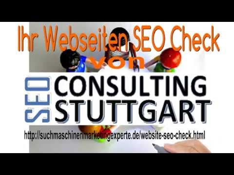 Website SEO Checker - SEO Consulting|Region Stuttgart