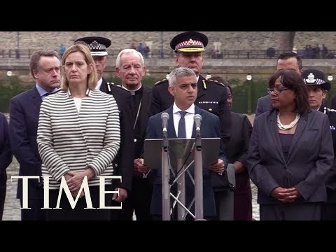 Mayor Sadiq Khan Holds Vigil For Victims Of The London Attack | TIME