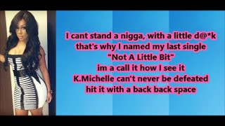 K.Michelle - Down In The DM (Lyrics) Remix