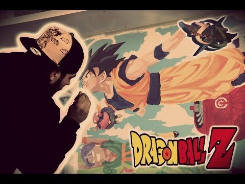 Painting Dragon Ball Z room
