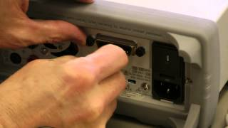 Installing optional GPIB into 34460A, 34461A DMM or 33600A Waveform Generator