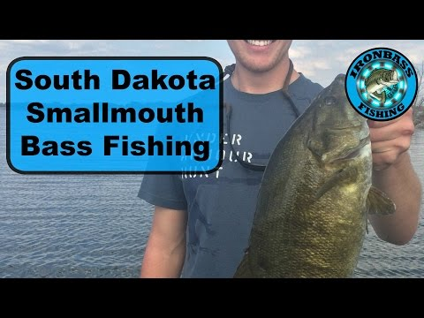 Smallmouth bass fishing in south dakota youtube for South dakota out of state fishing license