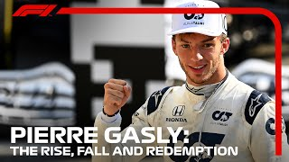 Pierre Gasly: The Rise, Fall And Redemption