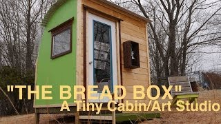 """the Bread Box""- A Tiny Modern Cabin / Art Studio (tree House Idea?)"