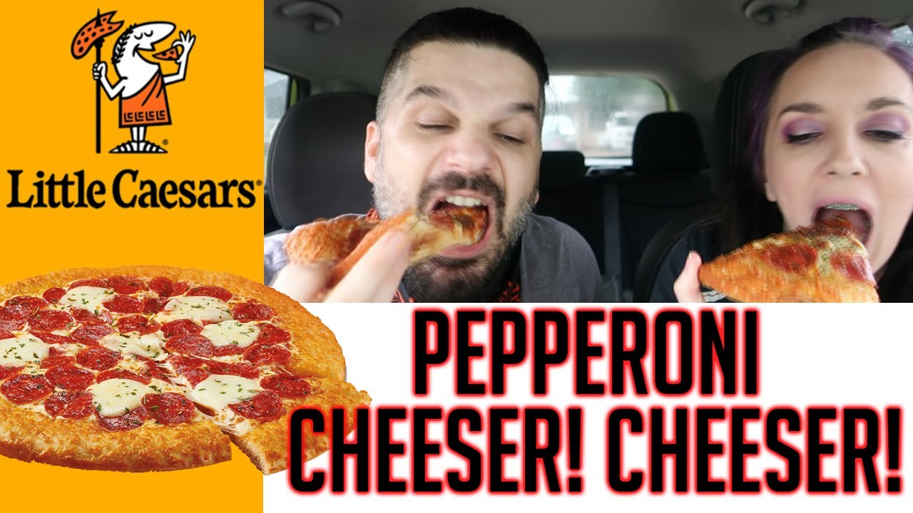 Little Caesar's Pepperoni Cheeser! Cheeser! Pizza Review