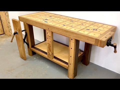 Workbench Leg Vise Homemade