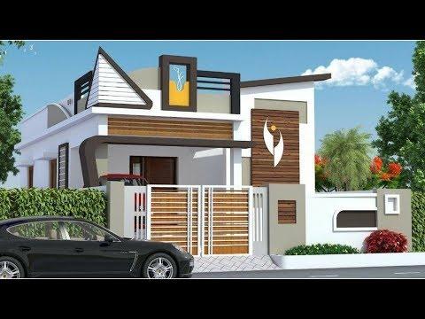 30 Latest Single Floor House Design Indian House Single