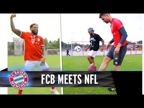 Beckham Jr. visits Säbener Straße | FC Bayern meets NFL