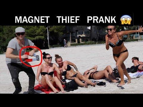 Iphone Thief Prank 😈 -Julien magic