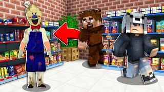 KORKUNÇ DONDURMACIDAN KAÇAN KAZANIR! 😱 - Minecraft