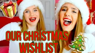 OUR CHRISTMAS WISHLIST 2015!! // Teen Gift Guide