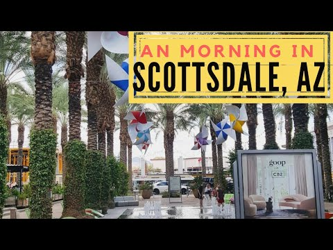 A Morning in Scottsdale   Living in Arizona   Featuring Le Macaron Scottsdale Quarter