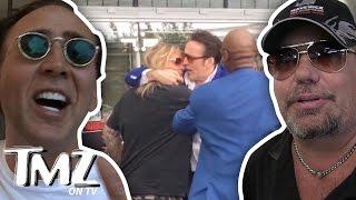 Nicolas Cage And Vince Neil – VEGAS FIGHT! (TMZ TV)