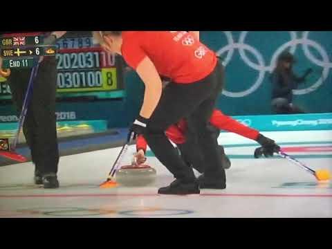Eve Muirhead GB Curling Team Hog Line Violation ??