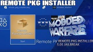 PS4 Remote Package Installer Tutorial (5.05 Jailbreak)