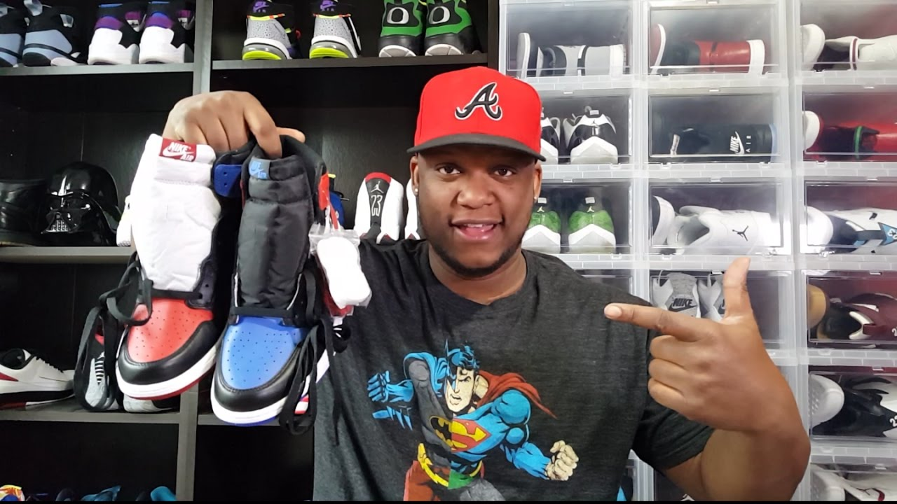f0bdfaabb7a JORDAN 1  TOP3  REVIEW AND ON FEET!!! - YouTube