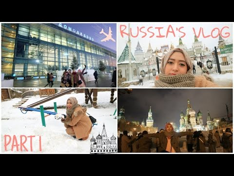 Russia's Vlog - Part 1 (Moscow Kremlin) #HijabForTheWorld