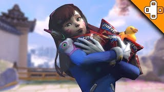 When Your D.Va Only Wants to Meme - Overwatch Funny & Epic Moments 640