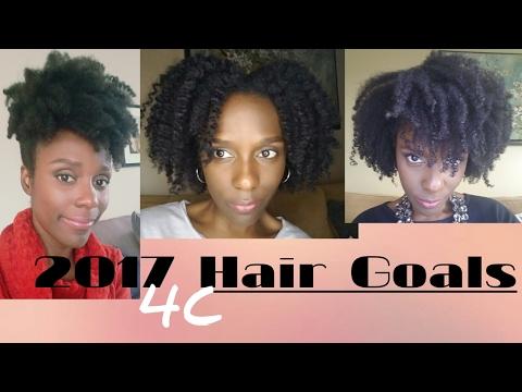 2017 Hair Goals: Let's talk Hair (4C)