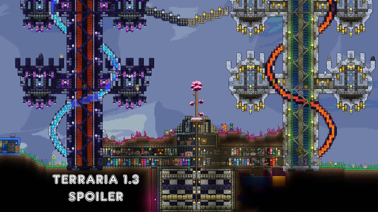 Terraria 1 3 Spoiler User Interface Changes New Armour