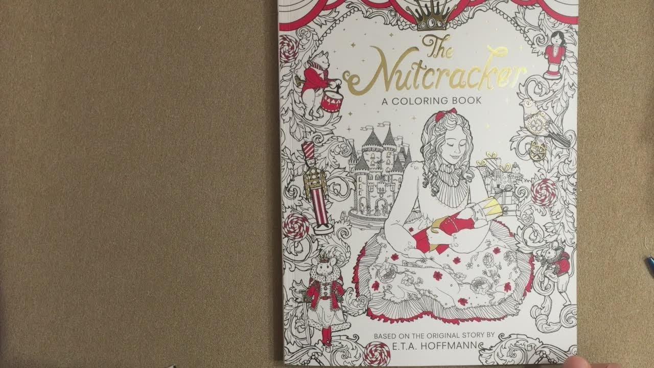 - The Nutcracker: A Coloring Book Flip Through - YouTube