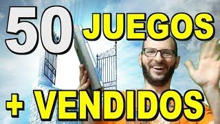 ¡LOS 50 JUEGOS MÁS VENDIDOS DE LA HISTORIA! - Sasel - Nintendo - Noticias - Español