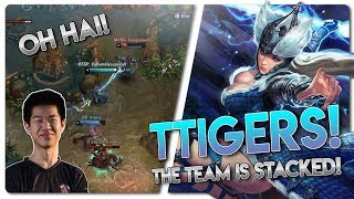 OH HAI TTIGERS!! Vainglory 5v5 [Ranked] Gameplay - Varya |CP| Mid Lane Gameplay