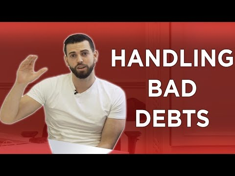 HOW TO HANDLE BAD DEBTS