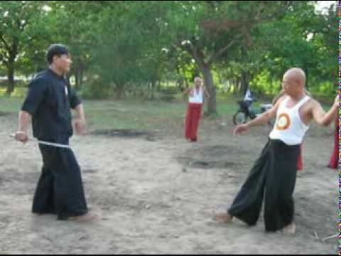 Burmese Martial Arts Discussion 1 (Thaing Byaung Byan) By Han Phyo Aung