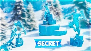 THE INCROYABLE SECRET OF THE STATUES OF FORTNITE BATTLE ROYALE!