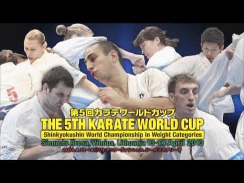 THE 5TH KARATE WORLD CUP WKO SHINKYOKUSHINKAI PROMOTION MOVIE
