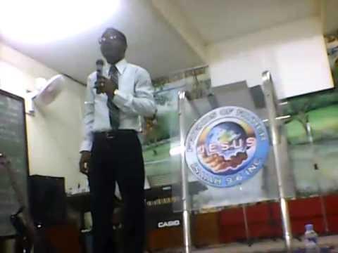 SERVICE AT DIMASSALANG - Manila Philipines- THEME: WHY ....?