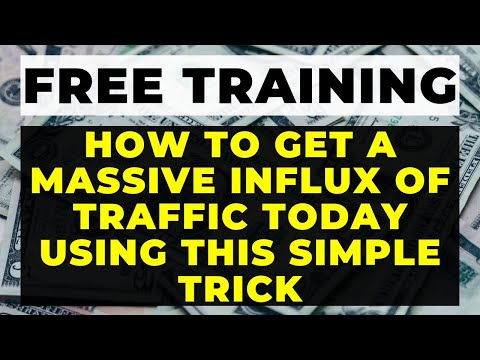 How to INCREASE website traffic TODAY to your Website for FREE [Get Traffic in MINUTES Doing this!]