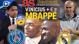 Le_Real_Madrid_va_sortir_la_carte_Vinicius_pour_arracher_Kylian_Mbappé_au_PSG_|_Revue_de_presse