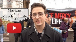 Marians at the March for Life 2019