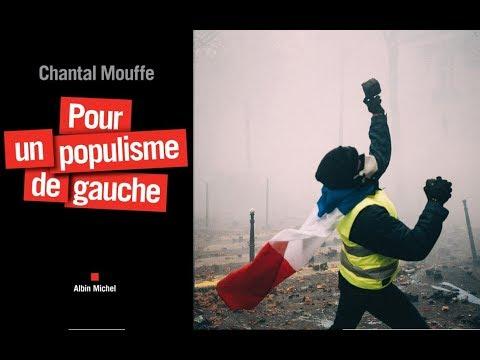 Chantal Mouffe sur les gilets jaunes (France Culture)