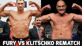 WLADIMIR KLITSCHKO VS TYSON FURY REMATCH BREAKDOWN