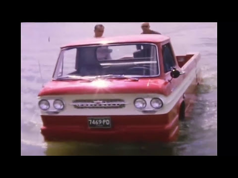 This Crazy, One-Off Amphibious Corvair Pickup Can Be Yours