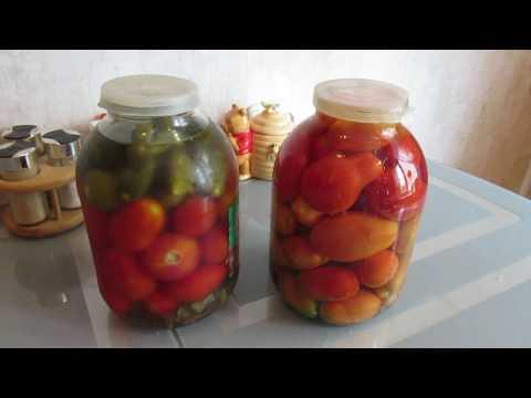 Как посолить помидоры холодным способом