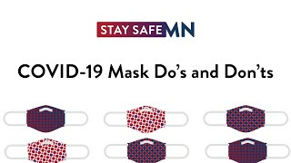 COVID-19 Mask Do's and Don'ts