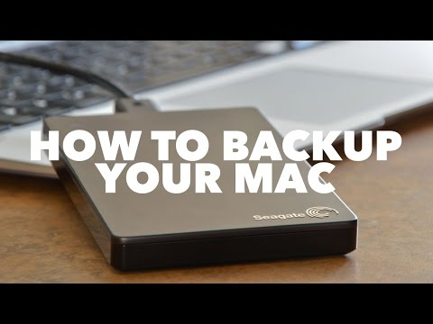 How To Backup Your Mac