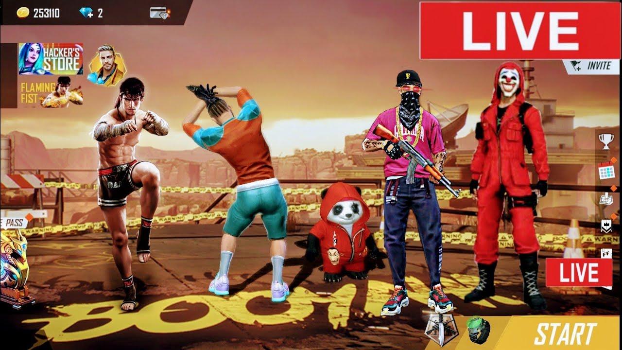 Free Fire Live Ff| liveff | fflive | Teamcode| Alok Giveaway