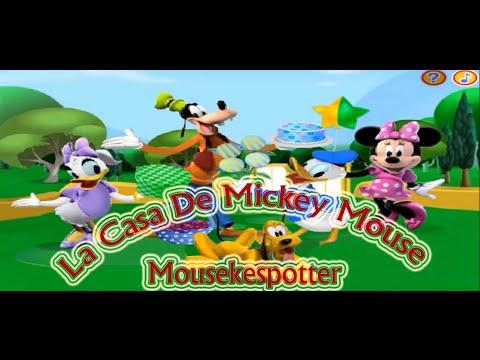 La casa de mickey mouse en espa ol juego mousekespotter - La casa de mickey mouse youtube capitulos completos ...