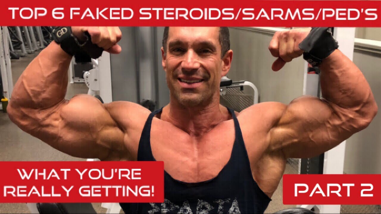 Top 6 Most Commonly Faked Steroids/SARMS/PED' and what you