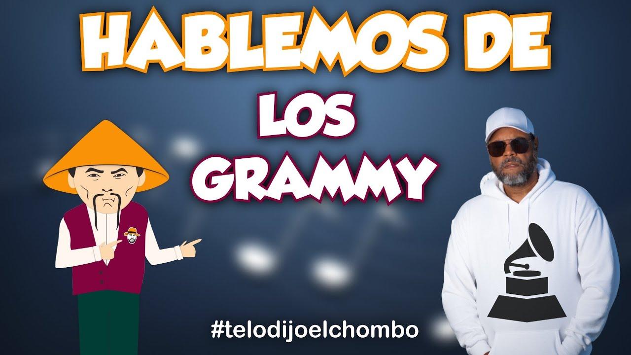 El Chombo presenta : Hablemos de los premios Grammy