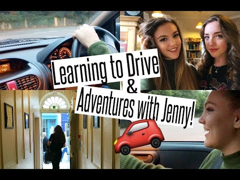 VLOG: Learning to Drive + Adventures with Jenny!