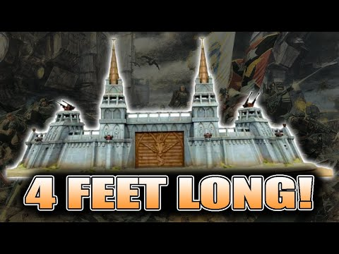Forge World's Largest Kit Ever: Imperial Fort Showcase
