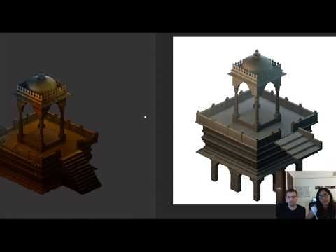 Twitch Stream, Environment Creation/Art Style Process Part 1