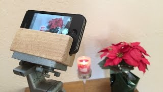 Diy - Free Iphone Tripod Mount